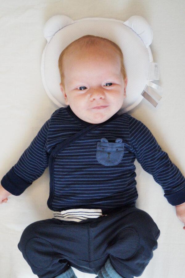 Candide Air Panda Babykudde Vit 2