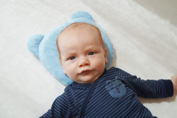 Candide Panda Babykudde Blå 2