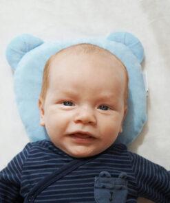 Candide Panda Babykudde Blå