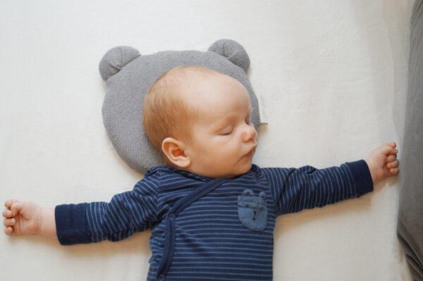 Candide Panda Babykudde Mörk Grå 2