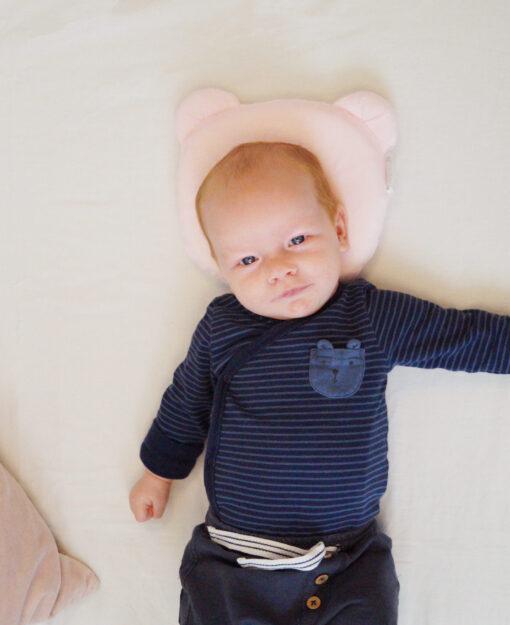 Candide Panda Babykudde Rosa 2