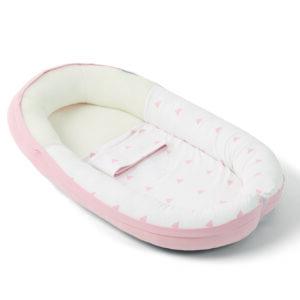 Doomoo Babybädd Rosa 1 e1546859959531