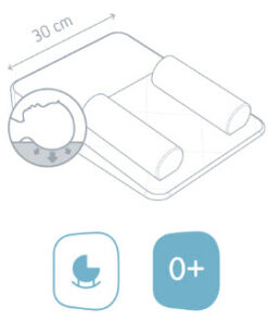 Doomoo Basics Liggstöd smal ikon 2
