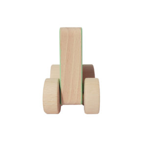 LullaLove ODA Träbil Fyrkant 3