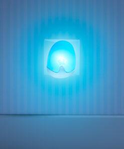 Pabobo Automatisk Nattlampa Blå
