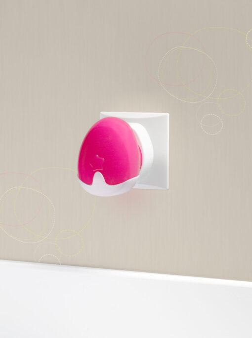 Pabobo Automatisk Nattlampa Rosa 1
