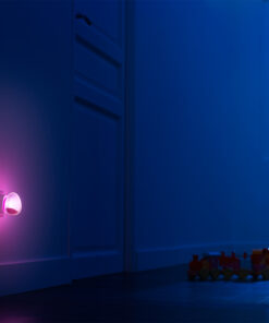 Pabobo Automatisk Nattlampa Rosa
