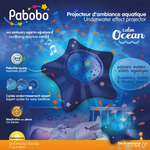 Pabobo Dynamisk Undervattensprojektor Lugnt hav 3