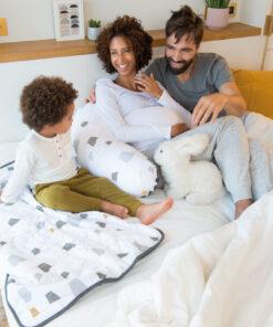 Doomoo Amnings och gravid kudde björn grå 4