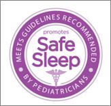 safe sleep icon