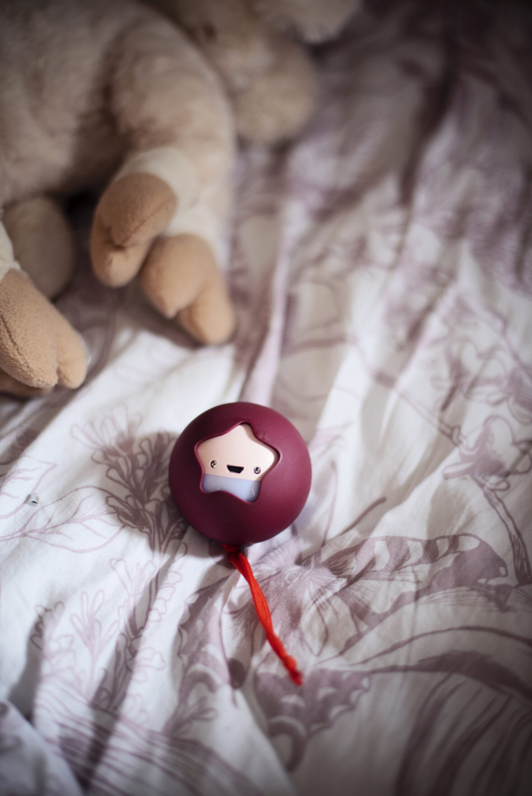 Pabobo Nattlampa Mini Mane Rosa