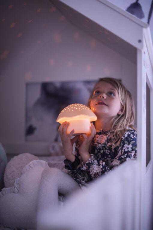 Pabobo Stjarnprojektor Svamp Orange